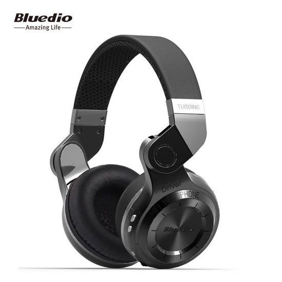 Bluedio T2S Bluetooth koptelefoon hoofdtelefoon Wit / White