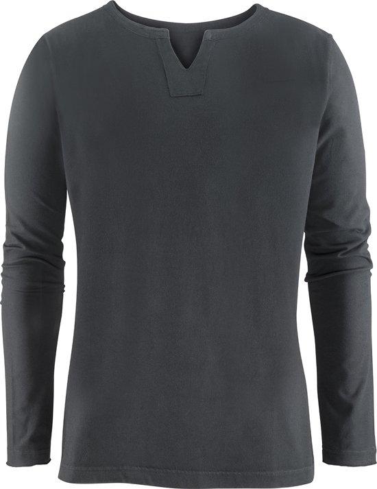 """Yoga-Long-Shirt """"Pero"""", charcoal XL Loungewear shirt YOGISTAR"""