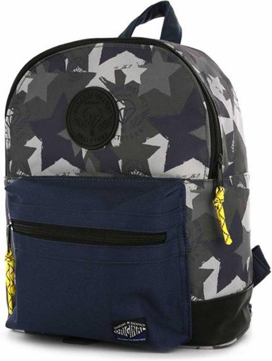 36bdf8a0882 bol.com | Shoesme - Kinderrugzak - Camo - blauw / grijs