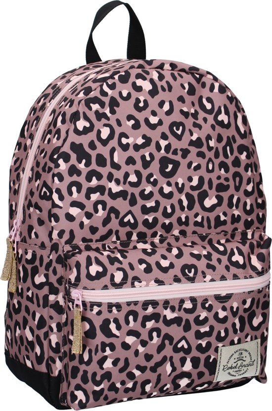 Milky Kiss Jungle Vibes Kinderrugzak 39 cm Unisex - Origin - Is het een panter print?