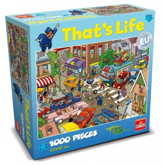 That's Life Puzzel New Traffic Jam - Puzzel