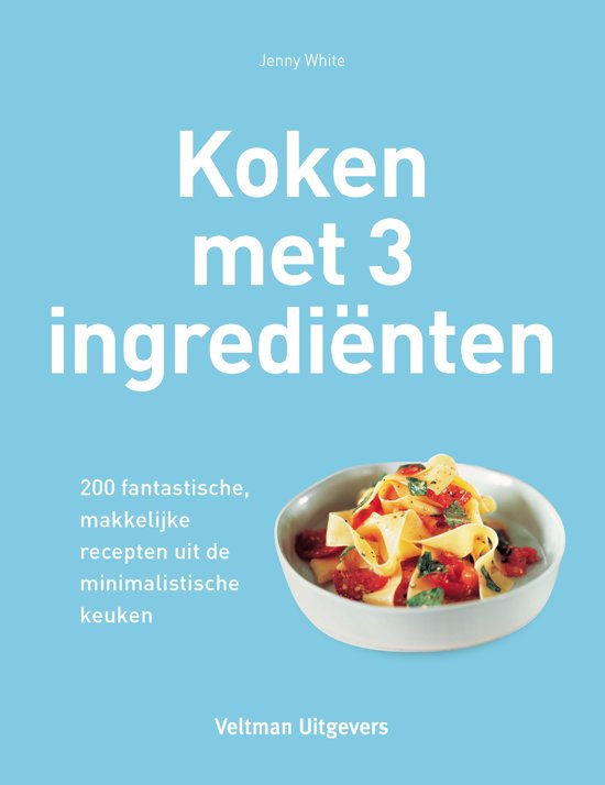Boek cover Koken met 3 ingredienten van Jenny White (Hardcover)