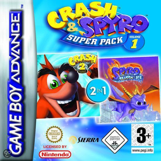 2-Pack - Crash N-Tranced & Spyro Ice