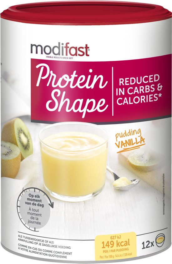 Modifast Protein Shape Pudding Vanille - 540 gr