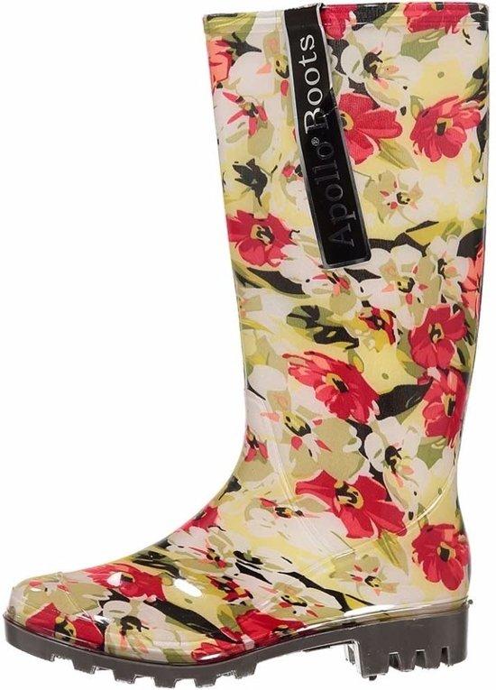 b7b8af651b5ef7 bol.com | Dames regenlaarzen met bloemen 37