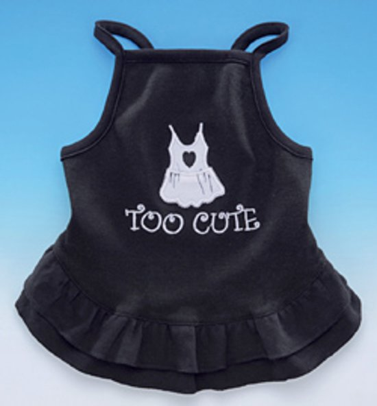Nobby - Hondenjurk Too Cute - Zwart - 30 cm