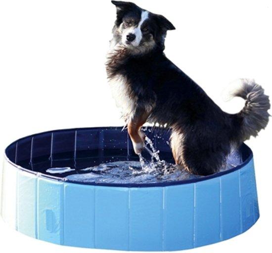 Trixie Hondenzwembad Blauw Afmeting - 160 x 30cm