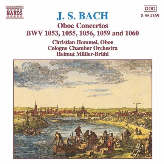 Bach: Oboe Concertos / Hommel, Muller-Bruhl