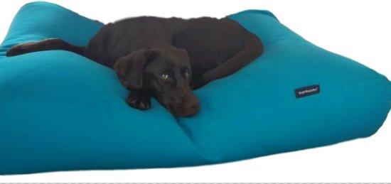 Dog's Companion Hondenkussen - XL -  140 x 95 cm - Aquablauw