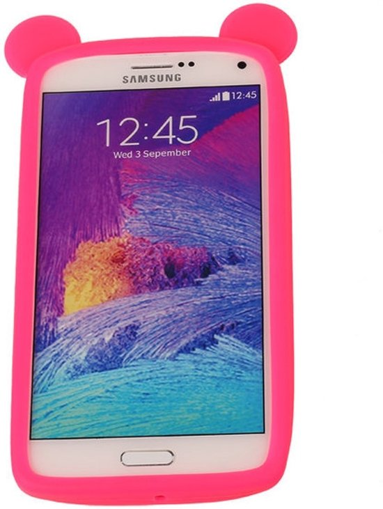 Roze Bumper Beer Small Frame Case Hoesje voor Huawei Y5c