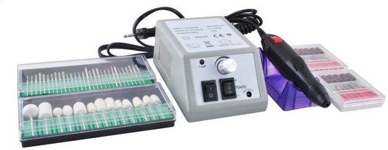 Nagelfrees - Elektrische Vijl Nagelvijl Machine - Set Met Nagels Bitjes - Manicure/Pedicure Motor Apparaat