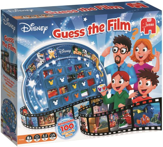 bol | disney guess the film spel, jumbo | speelgoed