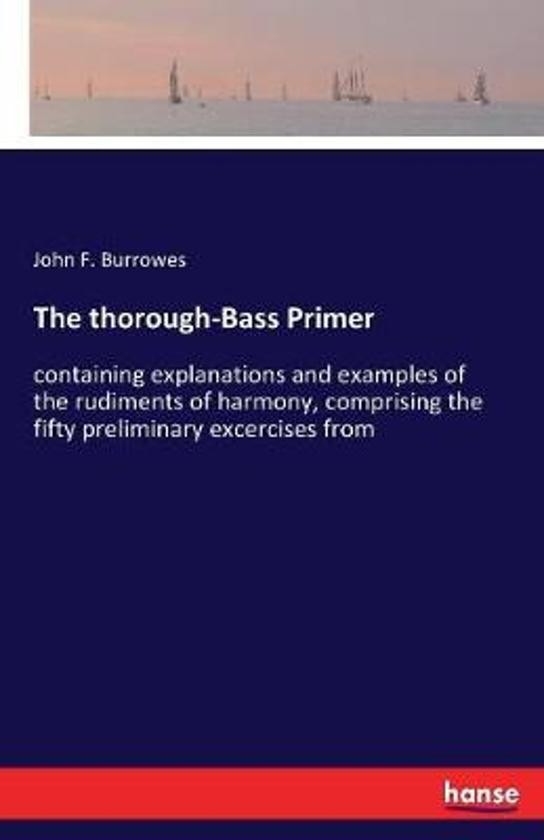 The Thorough-Bass Primer