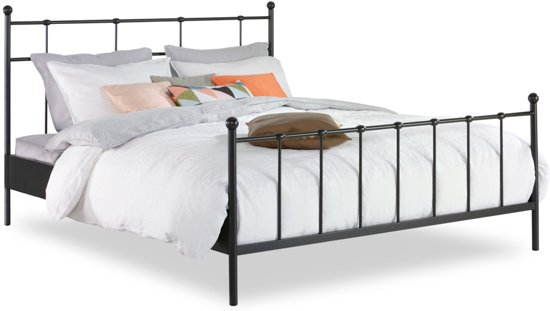 bol beterbed selvino bed antraciet 180 x 200 cm