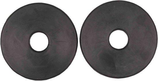 Bitringen zwart 8.5 cm diameter