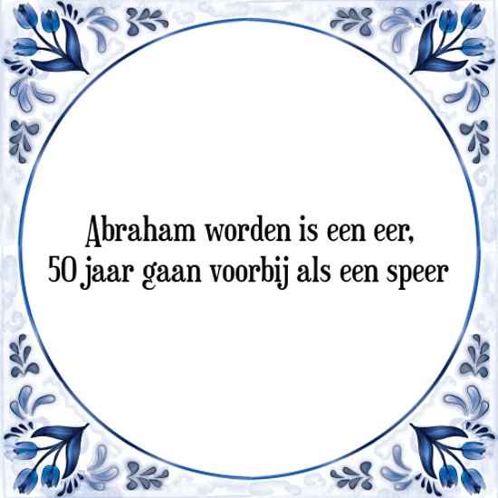 Abraham 50 Jaar Artikelen