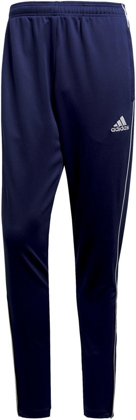adidas Core 18 Training Trainingsbroek - Maat L - Mannen - blauw
