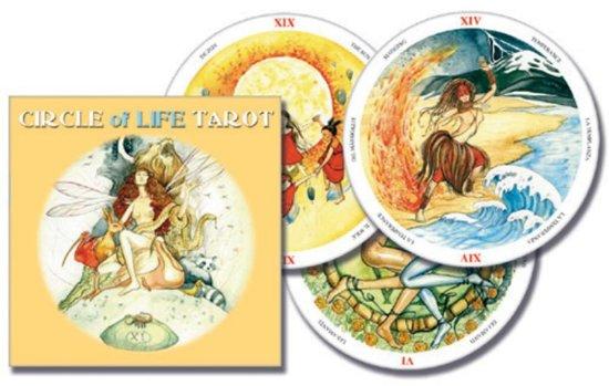 Scarabeo Circle of Life Tarot (NL) - (rond formaat)