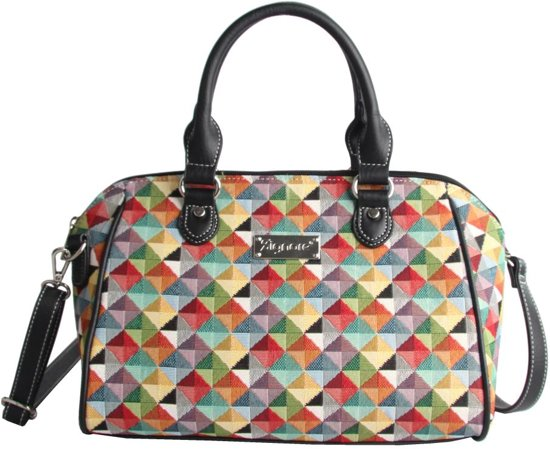 SchoudertasGobelin Multi Signare Triangle Bag Colored Bowler XOuTZkwPi
