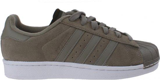bol.com | Adidas Superstar Sneakers Dames Groen Maat 39 1/3