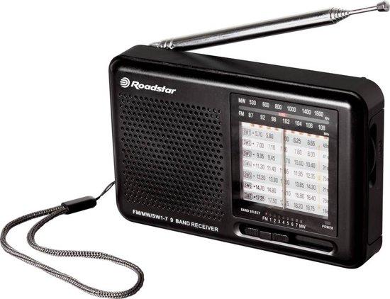Roadstar Draagbare radio - FM / AM / SW 1-7 - Radio