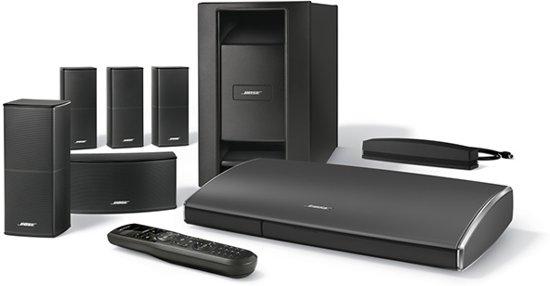 bose lifestyle soundtouch 525 5 1 home cinema set zwart. Black Bedroom Furniture Sets. Home Design Ideas