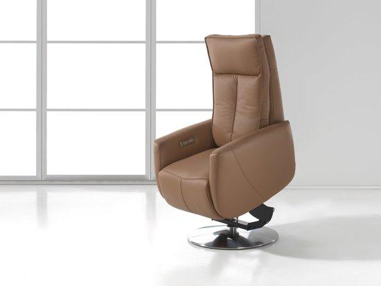 Cognac Kleur Stoel : Bol elektrische leder sta op stoel malmo kleur cognac