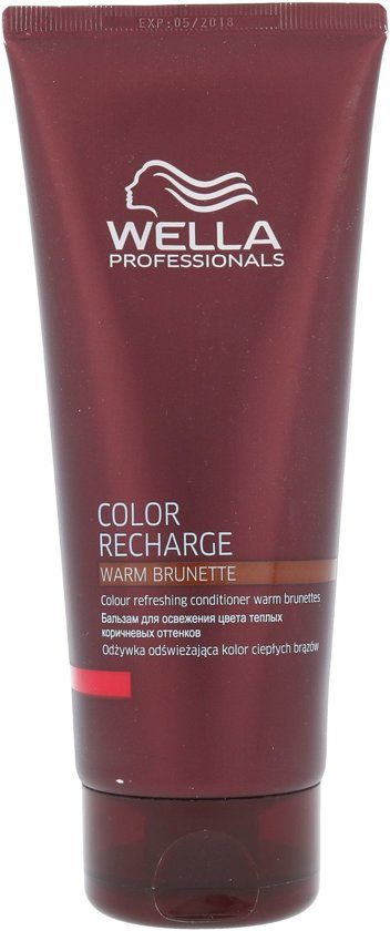 COLOR RECHARGE warm brunette conditioner 200 ml