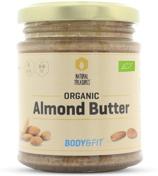 Body & Fit Superfoods Biologische Amandelpasta - 100% natuurlijk - 170 gram