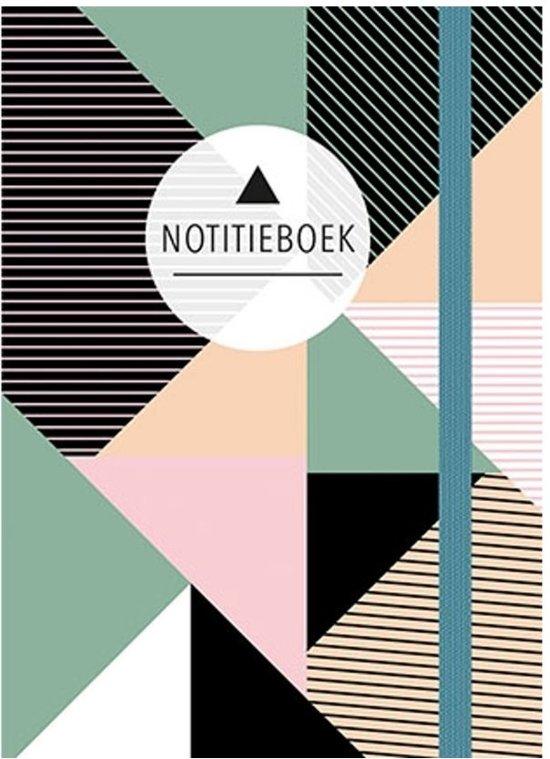 Notitieboek (klein - A6) - Triangles
