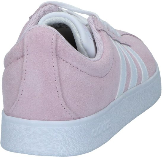 Adidas Vl Court 2.0 Dames Sneakers - Aero Pink S18/ftwr White/light Granite