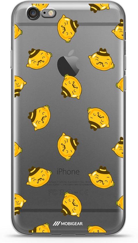 Mobigear Design TPU Hoesje Food Lemon iPhone 6 Plus / 6s Plus