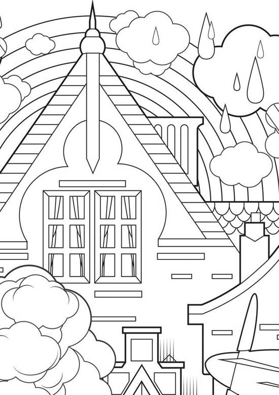 Bol Com Supergrote Kleurplaat In The City Kek Amsterdam Speelgoed