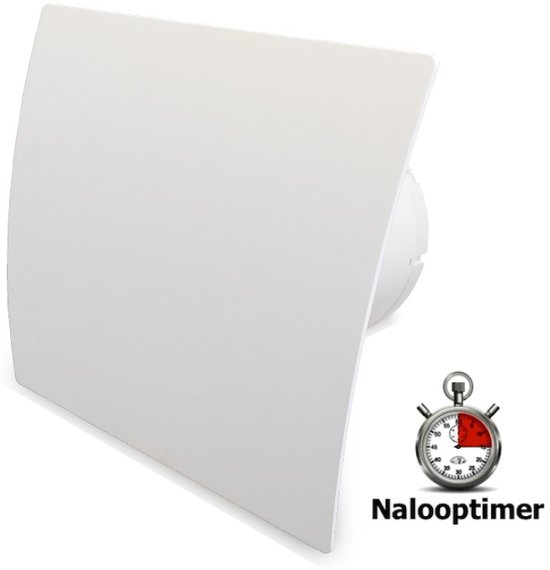 bol.com | Badkamer/toilet ventilator (silence motor) met nalooptimer ...