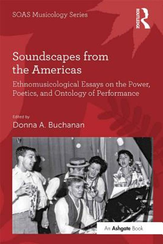 Soundscapes from the Americas