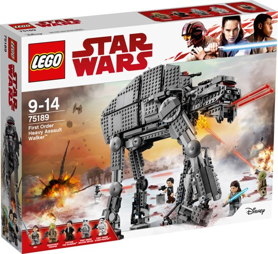 LEGO Star Wars First Order Heavy Assault Walker - 75189