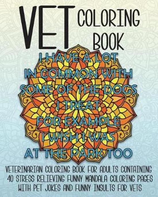 Vet Coloring Book