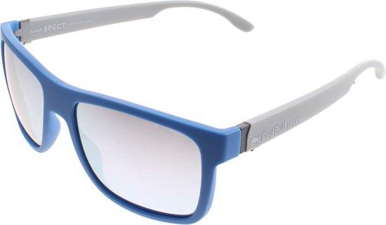 Red Bull Spect Eyewear Sportzonnebril Wing1 Matblauw/matgrijs (003pn)