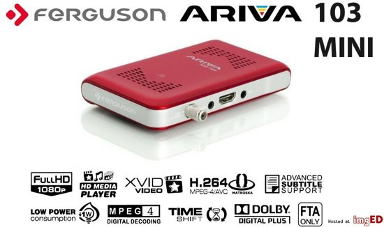 Ariva 103 mini satellietontvanger