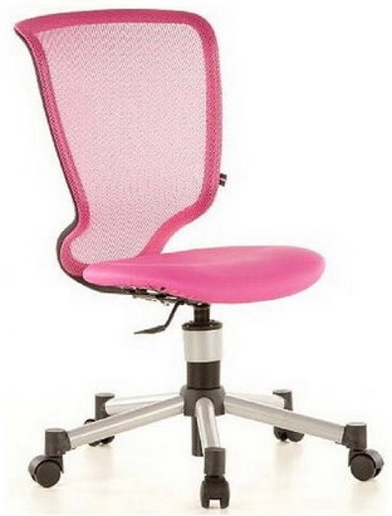 Roze bureaustoel amazing bureaustoel tess huismerk leen - Ikea sedia junior ...