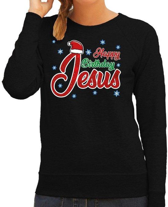 Happy Birthday Jesus | Mannen | Kersttrui, Kerstkleding