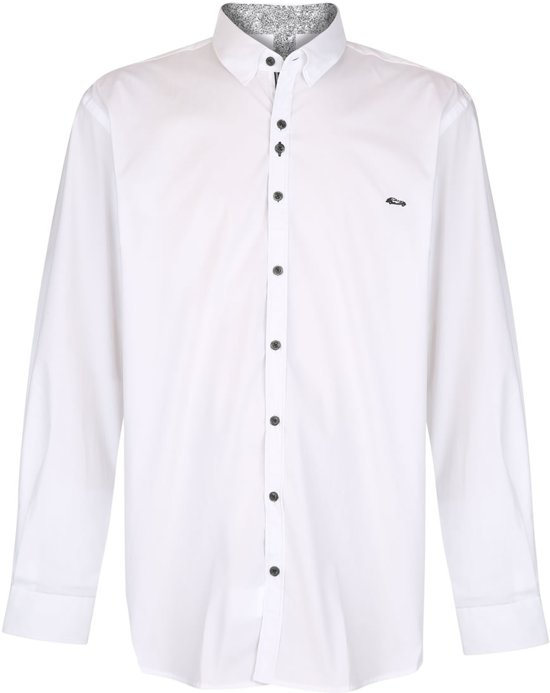 Grote Beltran Wit 3xl Gas Overhemd Maatdario EYDIW9H2