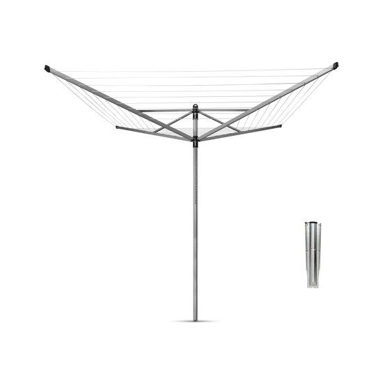 Brabantia Lift-O-Matic Droogmolen met Grondanker - 40 m