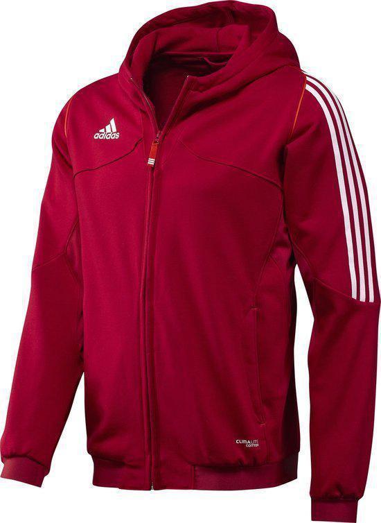 3fdc85b270d bol.com   adidas T12 Hoody Men rood - Sporttrui - Rood