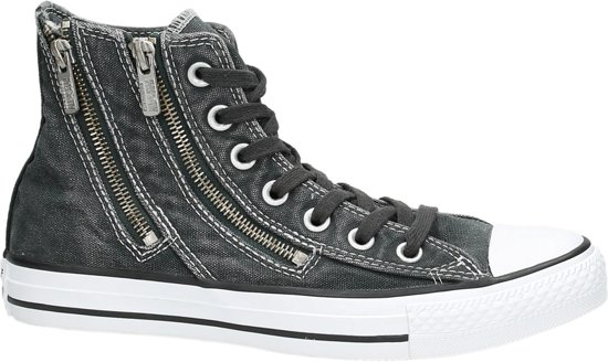 7f414e897bc Converse As hi dual zip - Sneakers - Dames - Maat 41 - Donkergrijs