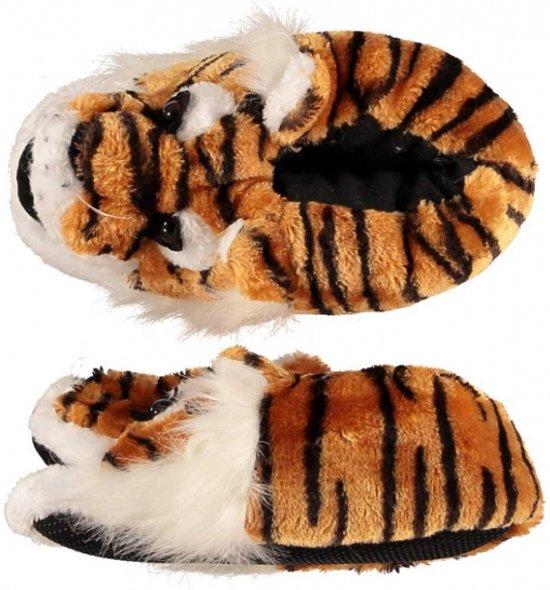 Dieren sloffen tijger voor dames 41-42