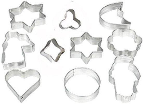 Koekjes vormen - Bakvorm - Uitstekers - Uitsteekvormen- set - 10st Valentinaa