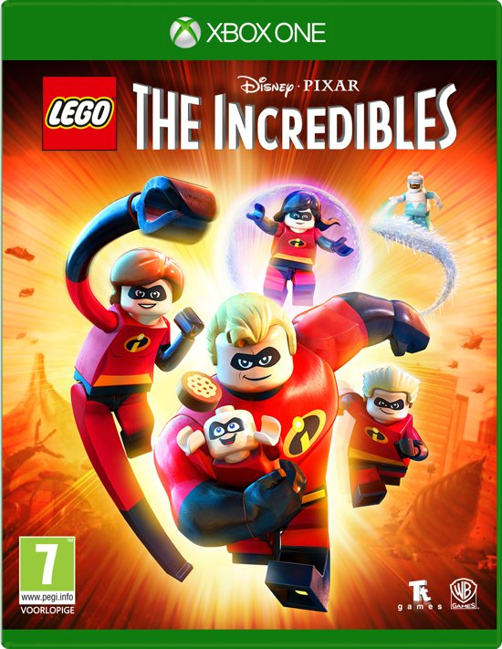 LEGO Disney Pixar's: The Incredibles - Xbox One