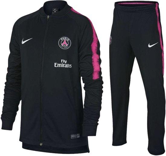 Nike Dry Paris Saint Germain Trainingspak Kinderen grijsroze