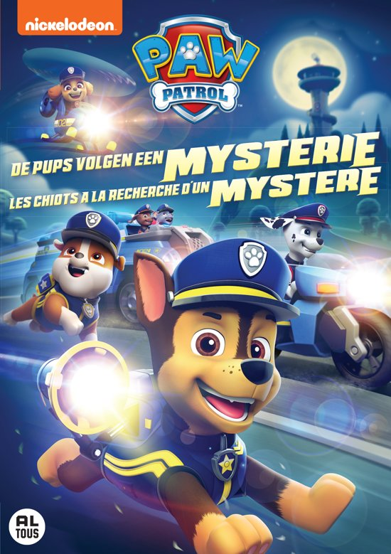 PAW PATROL V22: PUPS CHASE A MYSTERY(D/F)
